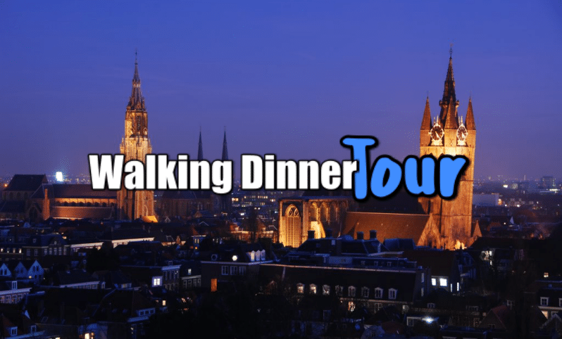 Groepsuitje Walking Dinner Tour Delft