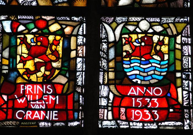 Willem van Oranje raam