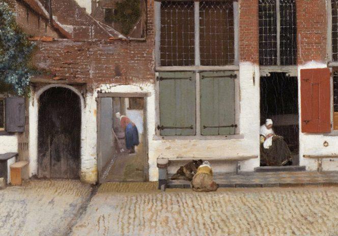 Straatje-Vermeer-landscape