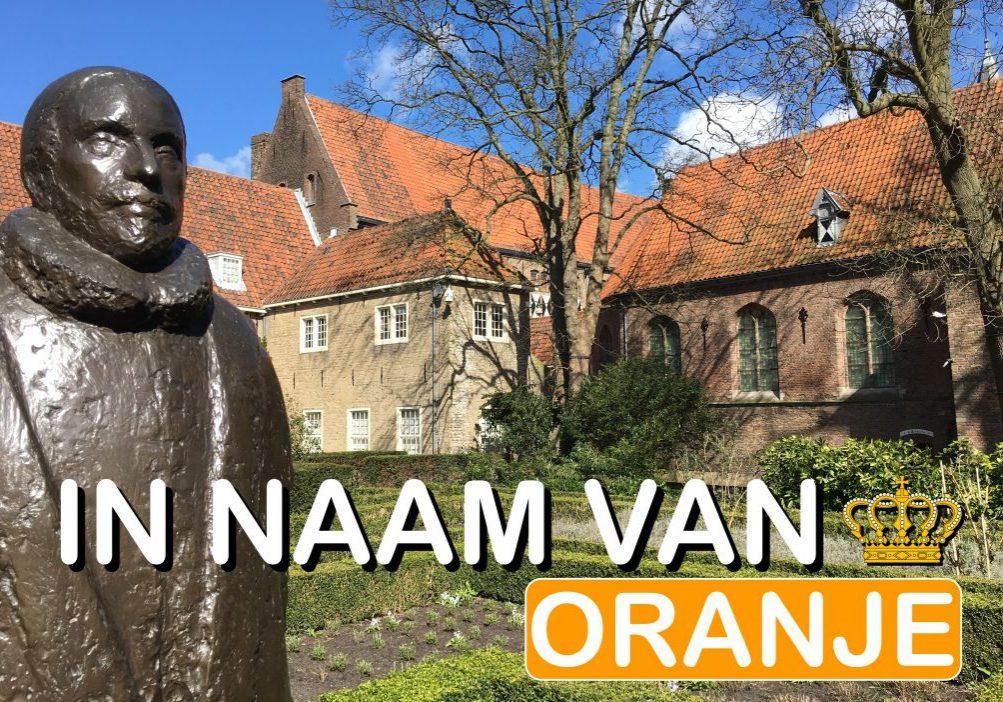 Oranje Wandeling Delft