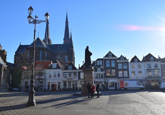 Markt van Delft